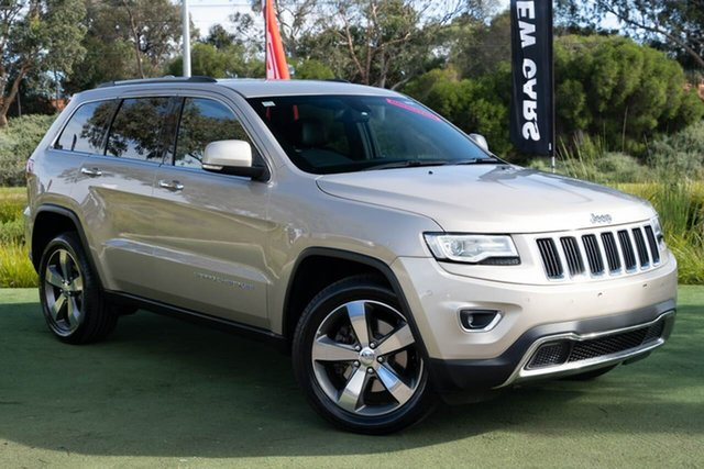 Used Jeep Grand Cherokee WK MY17 Limited, 2017 Jeep Grand Cherokee WK MY17 Limited Gold 8 Speed Sports Automatic Wagon