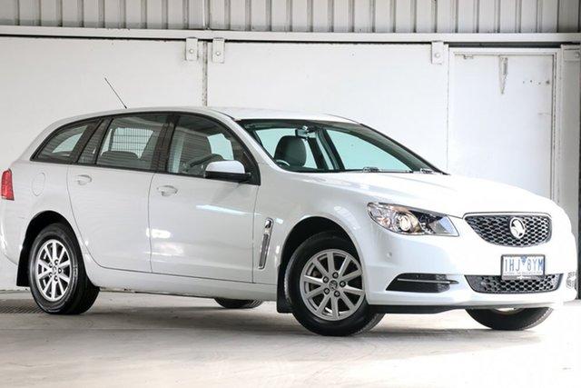 Used Holden Commodore VF II MY16 Evoke Sportwagon, 2016 Holden Commodore VF II MY16 Evoke Sportwagon White 6 Speed Sports Automatic Wagon