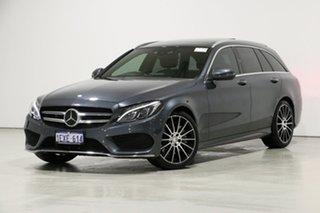 2015 Mercedes-Benz C250 205 MY16 Grey 7 Speed Automatic Wagon.