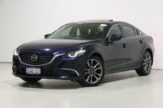 2016 Mazda 6 6C MY15 Atenza Blue 6 Speed Automatic Sedan.