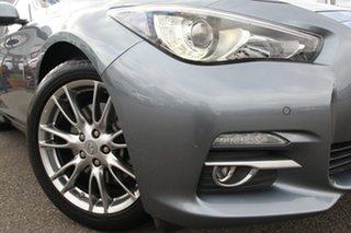 2015 Infiniti Q50 V37 S Premium Blue 7 Speed Sports Automatic Sedan.