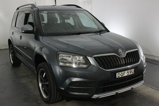2014 Skoda Yeti 5L MY14 77TSI DSG Active Grey 7 Speed Sports Automatic Dual Clutch Wagon.