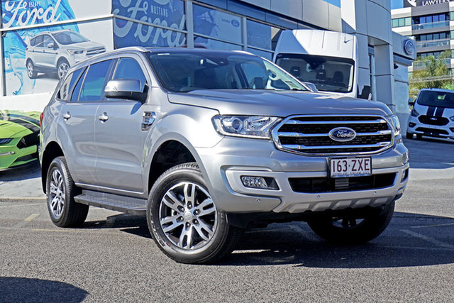 Used Ford Everest UA II 2019.00MY Trend, 2019 Ford Everest UA II 2019.00MY Trend Silver 10 Speed Sports Automatic SUV