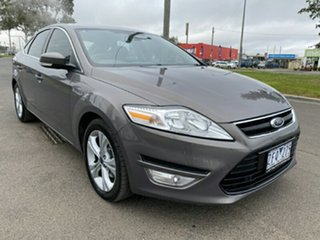 2012 Ford Mondeo MC Zetec PwrShift EcoBoost Brown 6 Speed Sports Automatic Dual Clutch Hatchback.