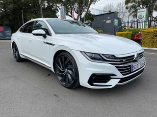 2019 Volkswagen Arteon 3H MY19 206TSI Sedan DSG 4MOTION R-Line White 7 Speed