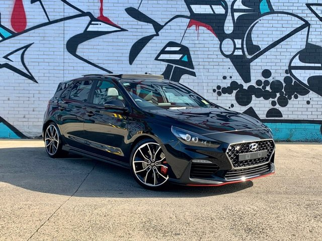 New Hyundai i30 PDe.3 MY20 N Performance Lux S.Roof, 2020 Hyundai i30 PDe.3 MY20 N Performance Lux S.Roof Phantom Black 6 Speed Manual Hatchback