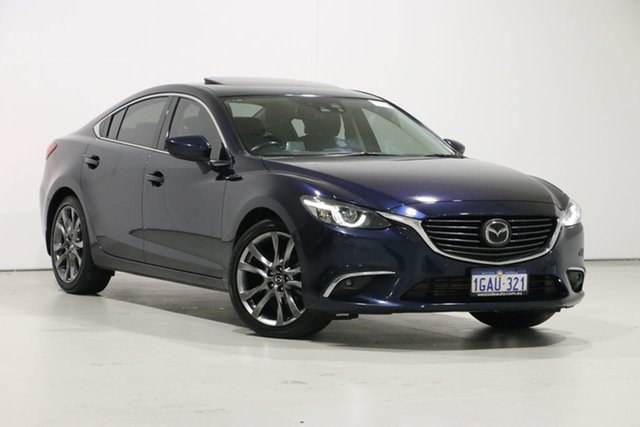 Used Mazda 6 6C MY15 Atenza, 2016 Mazda 6 6C MY15 Atenza Blue 6 Speed Automatic Sedan