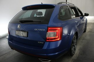 2016 Skoda Octavia NE MY16 RS DSG 162TSI Race Blue 6 Speed Sports Automatic Dual Clutch Wagon