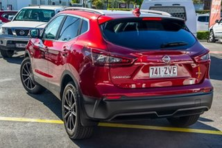 2020 Nissan Qashqai J11 Series 3 MY20 ST-L X-tronic Magnetic Red 1 Speed Constant Variable Wagon.