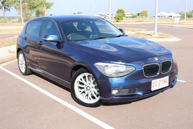 Used BMW 1 F20 118i, 2013 BMW 1 F20 118i Blue 8 Speed Automatic Hatchback