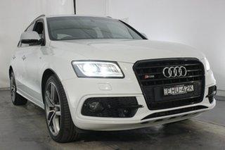 2016 Audi SQ5 8R MY17 TDI Tiptronic Quattro Glacier White 8 Speed Sports Automatic Wagon.