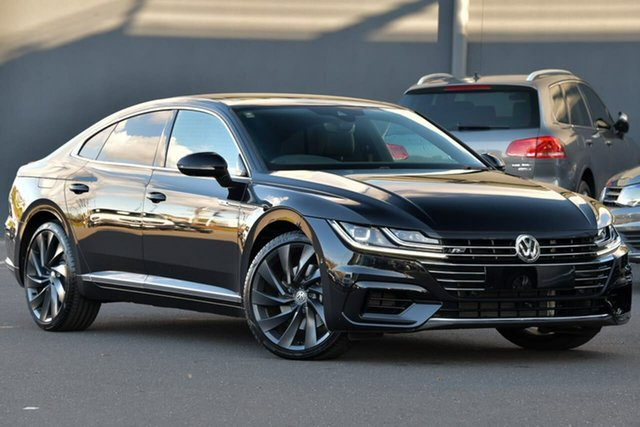 Used Volkswagen Arteon 3H MY19 206TSI Sedan DSG 4MOTION R-Line, 2019 Volkswagen Arteon 3H MY19 206TSI Sedan DSG 4MOTION R-Line Black 7 Speed