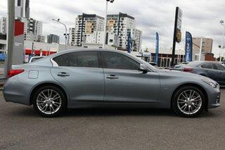2015 Infiniti Q50 V37 S Premium Blue 7 Speed Sports Automatic Sedan