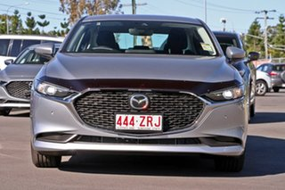 2019 Mazda 3 BP2S7A G20 SKYACTIV-Drive Pure Sonic Silver 6 Speed Sports Automatic Sedan