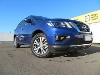 2019 Nissan Pathfinder R52 Series III MY19 ST X-tronic 2WD Caspian Blue 1 Speed Constant Variable.