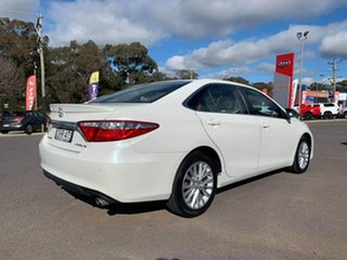 2016 Toyota Camry Atara SL White Sports Automatic Sedan