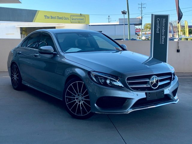Used Mercedes-Benz C-Class W205 806+056MY C250 d 7G-Tronic +, 2016 Mercedes-Benz C-Class W205 806+056MY C250 d 7G-Tronic + Silver 7 Speed Sports Automatic Sedan