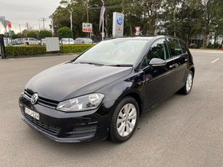 2015 Volkswagen Golf VII MY15 90TSI DSG Comfortline Black 7 Speed Sports Automatic Dual Clutch.