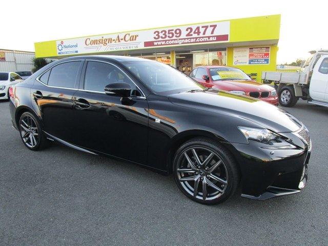 Used Lexus IS300H AVE30R F Sport, 2014 Lexus IS300H AVE30R F Sport Black 1 Speed Constant Variable Sedan Hybrid
