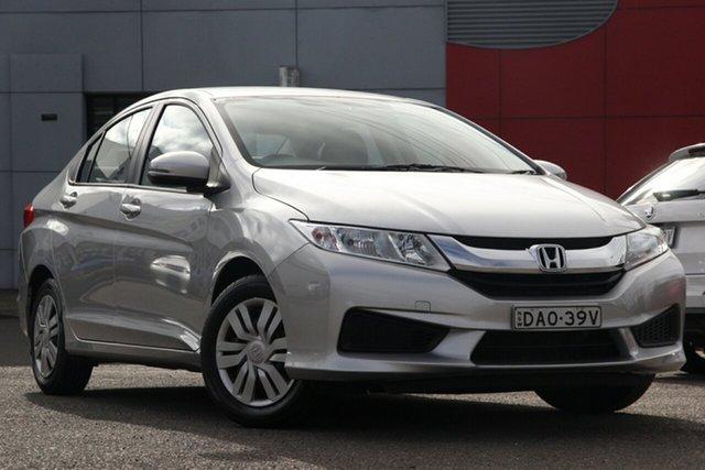 Used Honda City GM MY14 VTi, 2015 Honda City GM MY14 VTi Silver 1 Speed Constant Variable Sedan