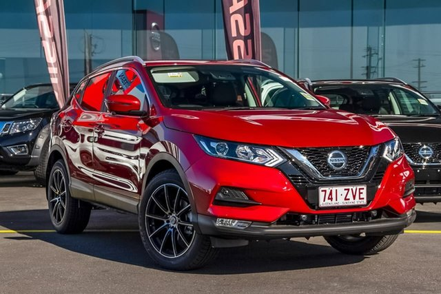 Demo Nissan Qashqai J11 Series 3 MY20 ST-L X-tronic, 2020 Nissan Qashqai J11 Series 3 MY20 ST-L X-tronic Magnetic Red 1 Speed Constant Variable Wagon