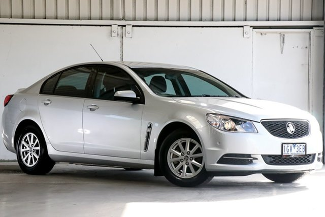 Used Holden Commodore VF II MY16 Evoke, 2016 Holden Commodore VF II MY16 Evoke Silver 6 Speed Sports Automatic Sedan