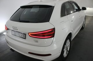 2014 Audi Q3 8U MY14 TFSI S Tronic Quattro Cortina White 7 Speed Sports Automatic Dual Clutch Wagon