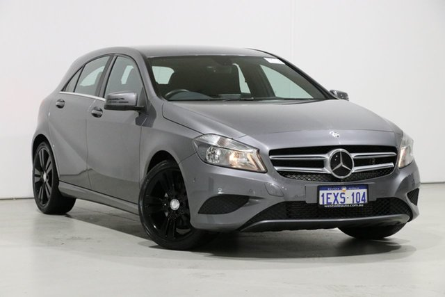 Used Mercedes-Benz A200 176 MY14 CDI, 2014 Mercedes-Benz A200 176 MY14 CDI Grey 7 Speed Automatic Hatchback