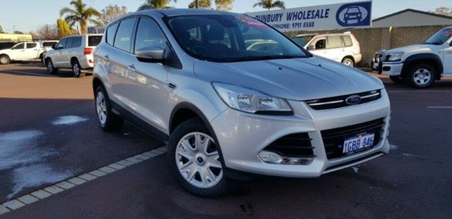 Used Ford Kuga TF MY16 Ambiente 2WD East Bunbury, 2016 Ford Kuga TF MY16 Ambiente 2WD Silver 6 Speed Sports Automatic Wagon