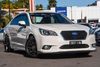 2015 Subaru Liberty B6 MY16 3.6R CVT AWD White Pearl 6 Speed Constant Variable Sedan.