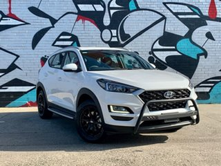 2020 Hyundai Tucson TL4 MY20 Active (2WD) Pure White 6 Speed Automatic Wagon.