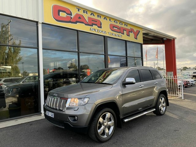 Used Jeep Grand Cherokee WK Limited (4x4), 2012 Jeep Grand Cherokee WK Limited (4x4) Grey 5 Speed Automatic Wagon
