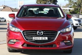 2017 Mazda 3 BN MY17 Neo Red 6 Speed Automatic Sedan