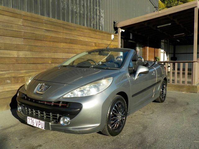 Used Peugeot 207 A7 CC, 2008 Peugeot 207 A7 CC Silver 4 Speed Sports Automatic Cabriolet