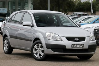 2009 Kia Rio JB MY07 EX Silver 4 Speed Automatic Hatchback.