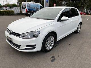 2012 Volkswagen Golf VI MY13 90TSI DSG Trendline White 7 Speed Sports Automatic Dual Clutch.