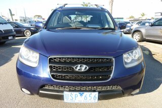 2006 Hyundai Santa Fe CM MY07 SLX Blue Onyx 4 Speed Sports Automatic Wagon.