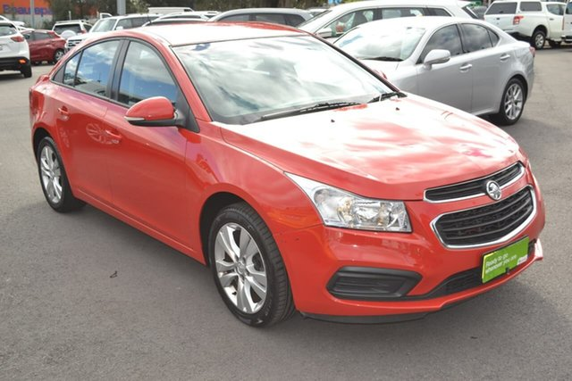 Used Holden Cruze JH Series II MY15 Equipe, 2015 Holden Cruze JH Series II MY15 Equipe Red 6 Speed Sports Automatic Sedan