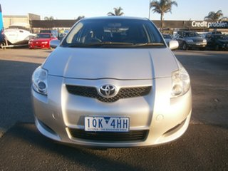 2008 Toyota Corolla ZRE152R Ascent Silver 6 Speed Manual Hatchback.