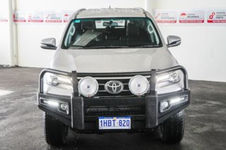 2017 Toyota Fortuner GUN156R Crusade Silver Sky 6 Speed Automatic Wagon