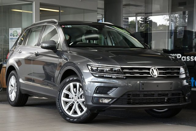 New Volkswagen Tiguan 5NA MY20 132 TSI Comfortline Liverpool, 2020 Volkswagen Tiguan AD13QT/20 132 TSI Comfortline Indium Grey 7 Speed Auto Direct Shift Wagon