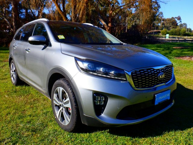 Demo Kia Sorento UM MY20 GT-Line AWD Mount Barker, 2019 Kia Sorento UM MY20 GT-Line AWD Steel Grey 8 Speed Automatic Wagon