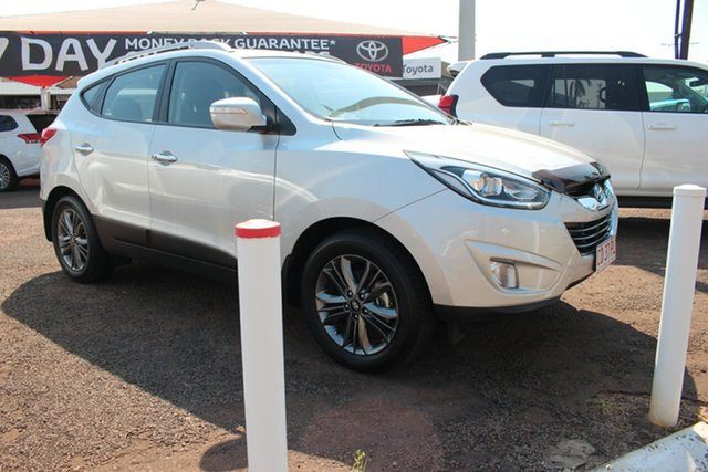 Used Hyundai ix35 LM3 MY15 Elite AWD, 2015 Hyundai ix35 LM3 MY15 Elite AWD Silver 6 Speed Automatic Wagon