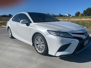 2018 Toyota Camry GSV70R SL White 8 Speed Sports Automatic Sedan.