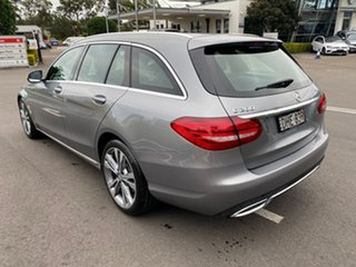 2014 Mercedes-Benz C-Class S205 C200 Estate 7G-Tronic + Silver 7 Speed Sports Automatic Wagon