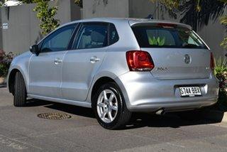 2014 Volkswagen Polo 6R MY14 77TSI DSG Comfortline Silver 7 Speed Sports Automatic Dual Clutch.