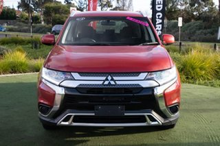 2018 Mitsubishi Outlander ZL MY19 ES 2WD Red/Black 6 Speed Constant Variable Wagon