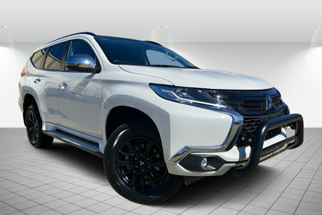Used Mitsubishi Pajero Sport QE MY19 Black Edition, 2019 Mitsubishi Pajero Sport QE MY19 Black Edition White 8 Speed Sports Automatic Wagon