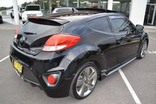 2013 Hyundai Veloster FS2 SR Coupe Turbo Black 6 Speed Sports Automatic Hatchback