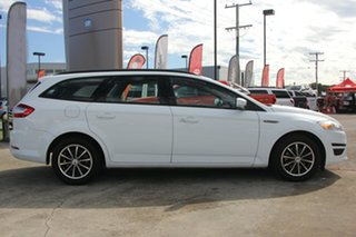 2013 Ford Mondeo MC LX PwrShift TDCi White 6 Speed Sports Automatic Dual Clutch Wagon.